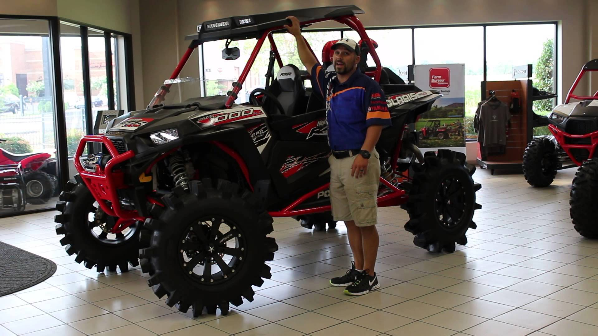 2016 Polaris Rzr 1000 Highlifter The Mud Machine