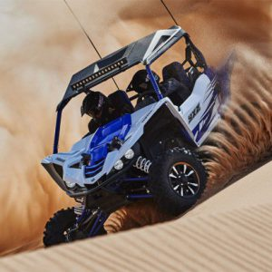 Yamaha YXZ1000R on sand