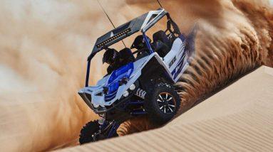Yamaha YXZ1000R on sand