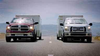 ford f 150 towing test vs ram si