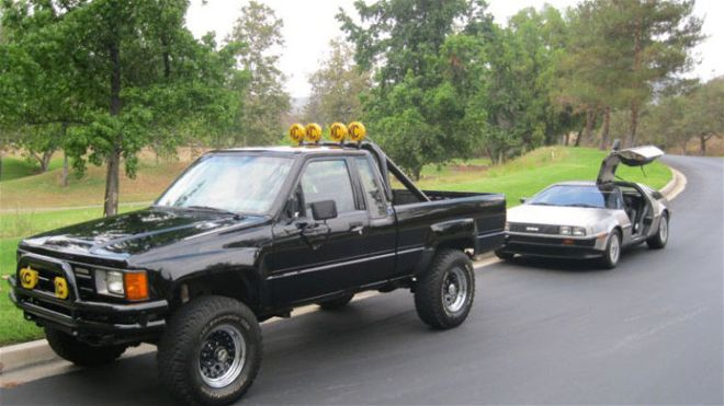 1984 Toyota Pickup 4x4 Back To The Future