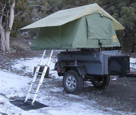 Off road double deck tent evolution2