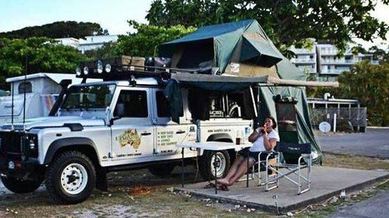 Off road double deck tent evolution3