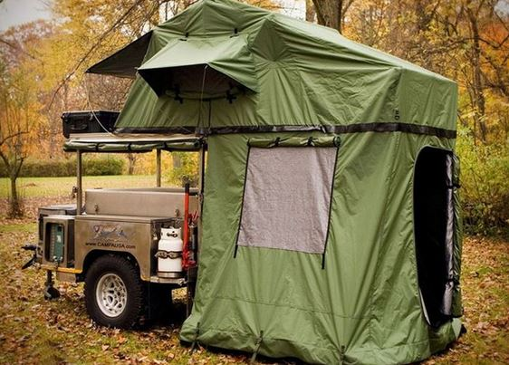 Off road double deck tent evolution7