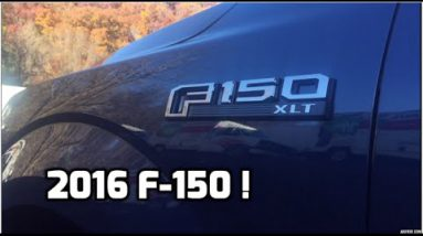 2016 Ford F150 XLT – What's New This Year?