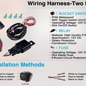 wiring-harness-two-leads-for-led-lights