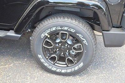 J09811 New Jeep Wrangler Unlimited Unlimited Black SUV 3.6L V6 24V Automatic 4WD