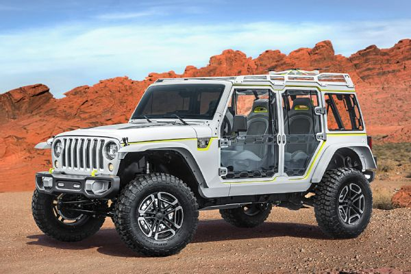Auto News Four Wheeler Jeep Mopar 2017 Concepts Moab Easter Jeep Safari Windoors Photo 132955434