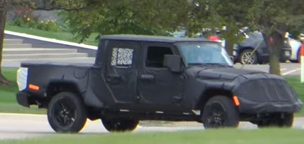 2019 Jeep Scrambler Pickup & Concept de chef d'équipe ...
