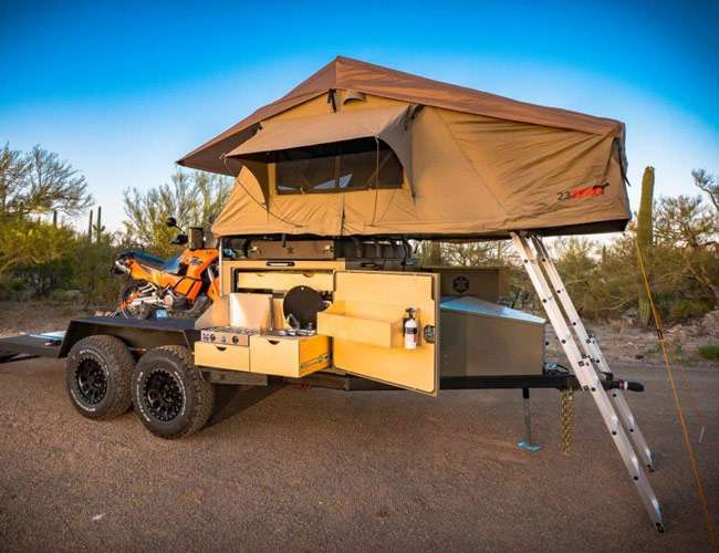 6 Top 4x4 Trailers offroadsociety.com Turtleback Trailers Turtlebacker