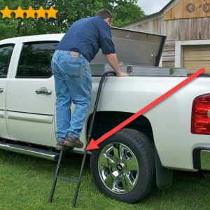 TraXion 5-110 Side Step pickup truck ladder