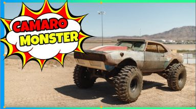 650 HP Camaro Monster Truck OffroadSociety.com