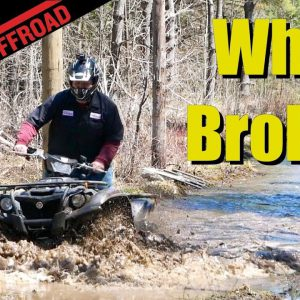 How has a Four-Year Old Yamaha Kodiak 700 Held Up? We Hit the Mud and Find Out!