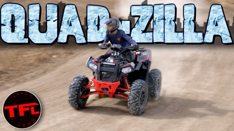 The 2021 Polaris Scrambler XP 1000 S Is One Of The CRAZIEST ATVs Ever Made, But Can It Jump?