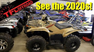 Come See Inside Yamaha's Toy Room - 2020 ATVs, Dirt Bikes and More!