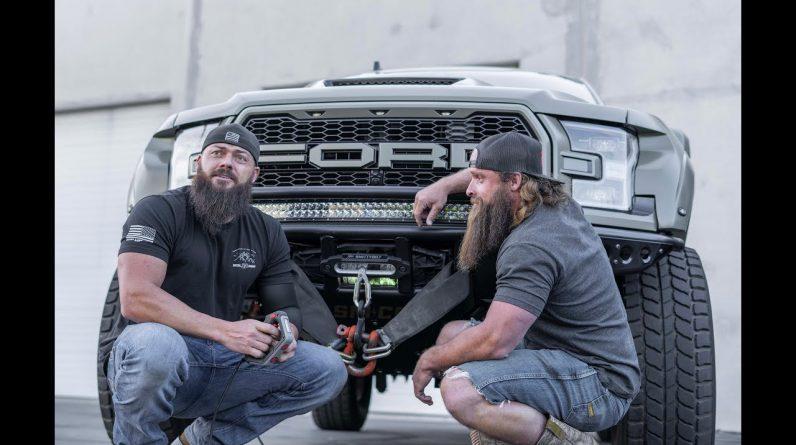 Diesel Brothers Smittybilt XRC Gen3 Winch Testing
