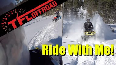 Shredding Deep Powder with Backcountry Tracks on the Can-Am Lineup | Come Ride With Me Ep.2