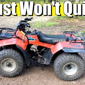 A $1500 Classic Suzuki ATV That Just Won't Quit! - Dude, I Love My Ride @Home Edition