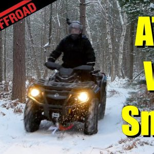 Snow Can't Stop the 2020 Can-Am Outlander MAX XT 850