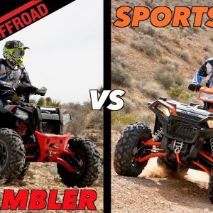 First Dirt Review: New WIDE 2020 Polaris Sportsman & Scrambler XP 1000 S ATVs