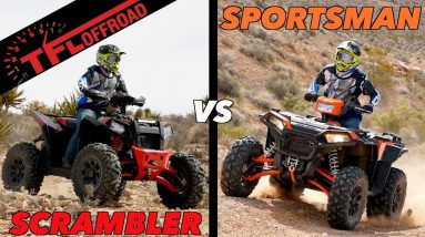 First Dirt Review: New WIDE 2020 Polaris Sportsman & Scrambler XP 1000 S ATVs