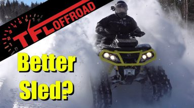 2019 Can-Am Outlander Backcountry Review: Is an ATV With Tracks More Fun Than a Sled?