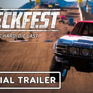 Wreckfest - Official Tournament Update and Off-Road Car Pack Trailer